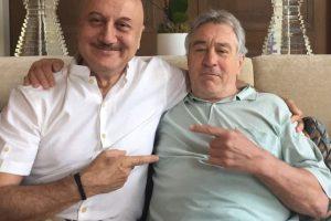 Watch: Robert De Niro makes Anupam Kher's birthday the biggest highlightof his life