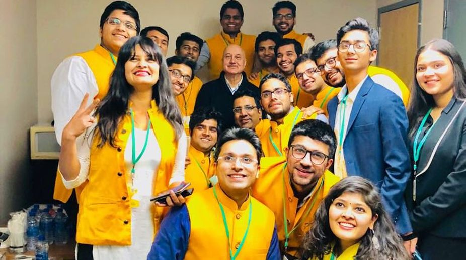 Anupam Kher, Babson College, Boston
