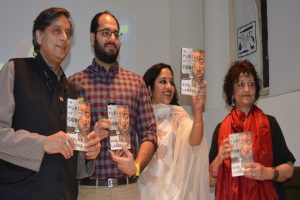 ​MP S​hashi Tharoor launches Avalok Langer's book 'In Pursuit Of Conflict'