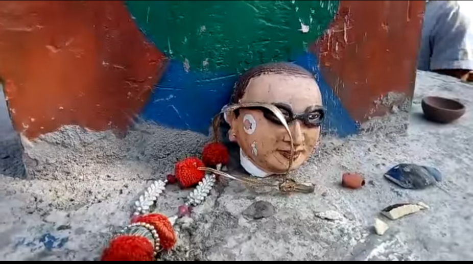 Ambedkar statue, Uttar Pradesh, Ambedkar statue vandalised, statue vandalised, UP government