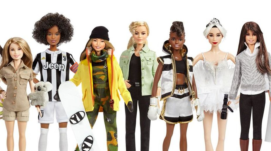 Boxing Barbie based on British champ fights sexist stereotypes