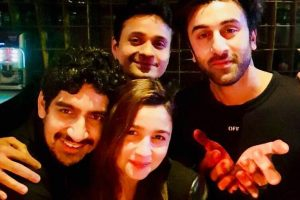 Ranbir Kapoor, Alia Bhatt wrap up first schedule of 'Brahmastra'