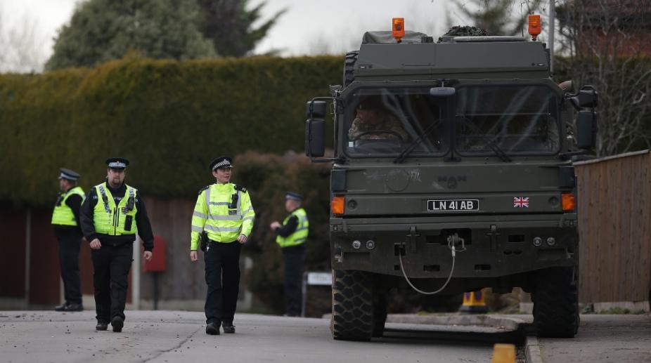 Britain Nerve Agent attack