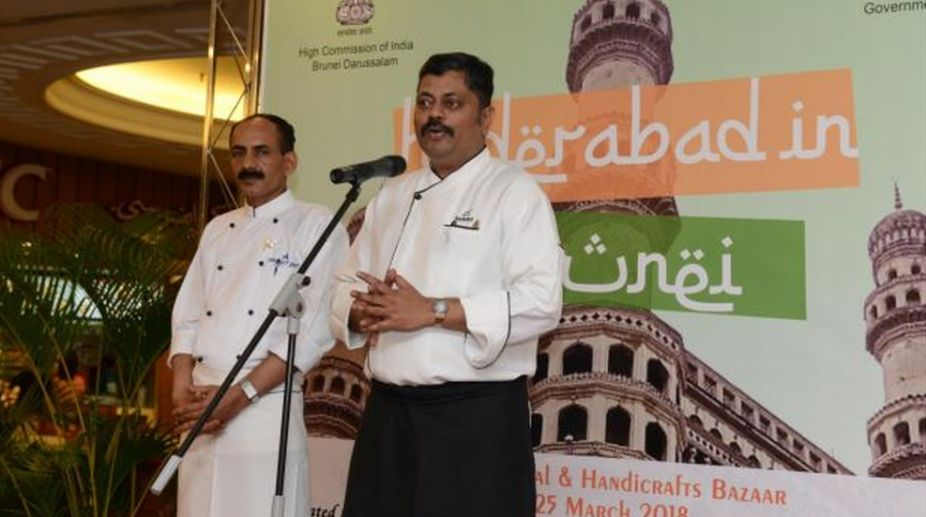 Chef Sanjay B Dasari at Hyderabad in Brunei