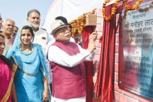 Tricolour hoisted  for first time in Haryana village