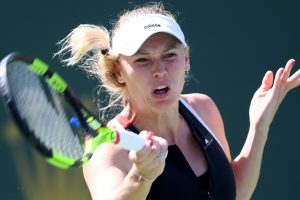 Indian Wells: Caroline Wozniacki battles to progress