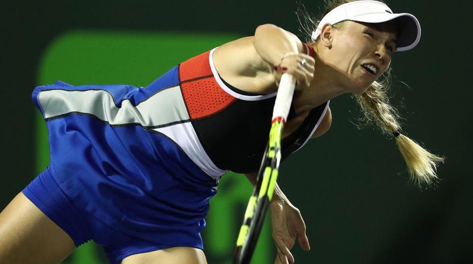 Caroline Wozniaki, Miami Open 2018