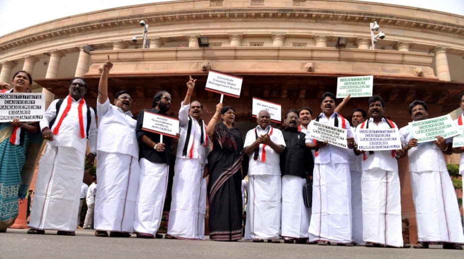 DMK plans to launch protests across Tamil Nadu over CMB