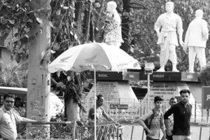 Statue vandalism: Siliguri cops on alert