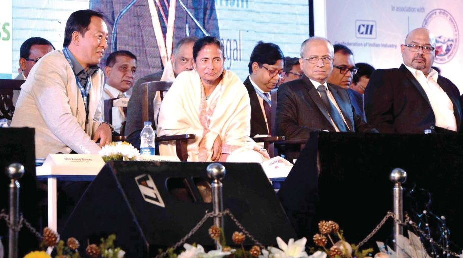 Mamata Banerjee in Hill Business Summit