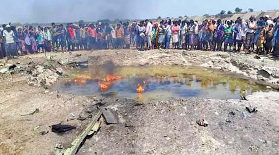 Jharkhand: IAF plane crashes near Jamshedpur, pilot jumps to safety
