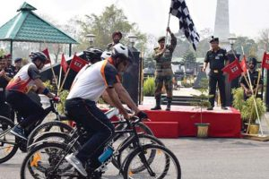 Army cycle tour rekindles Liberation War memories
