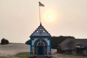 Ancient temple affected by sea erosion to be relocated