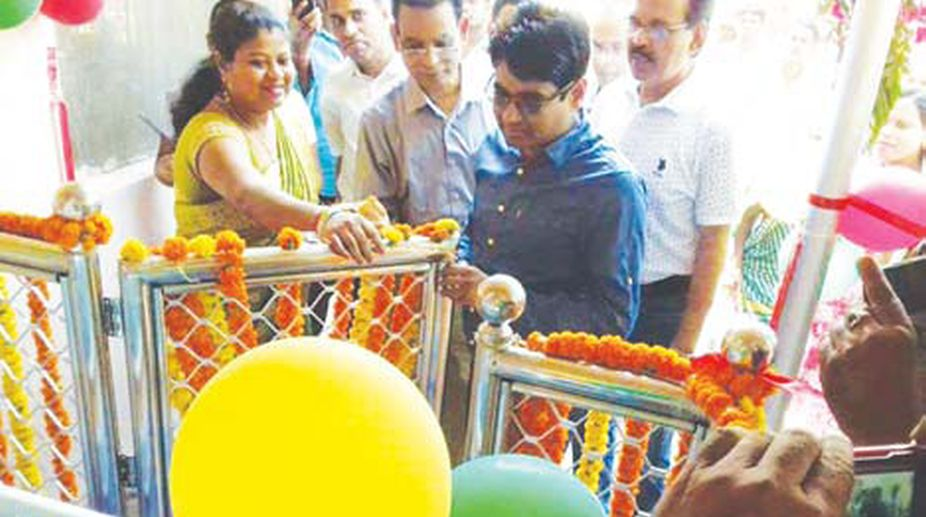 Baby Cradle Point for abandoned newborn opens at Baripada hospital. (Photo: SNS)