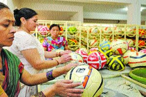 Govt to help in commercial manufacture of footballs