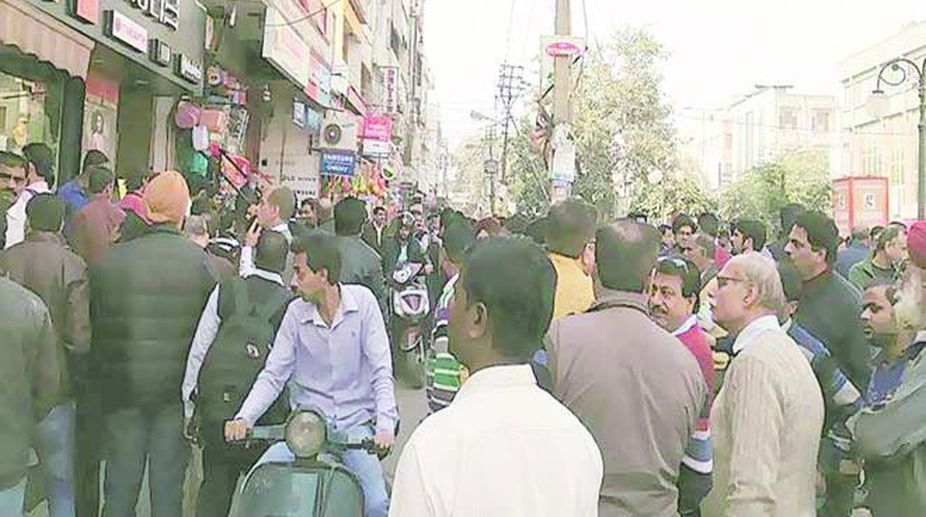 Delhi Sealing Drive: Complete Shutdown in Markets as Traders Hold Protest