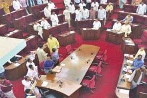 Ruckus in Assembly: Opp slams BJD 'incompetence'
