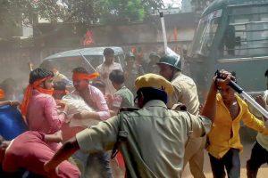 Ram Navami violence: Heavy police force deployed