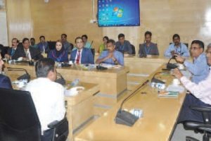 Chief secretary holds discussion in G2B meet to enhance State's trade relations in various sectors