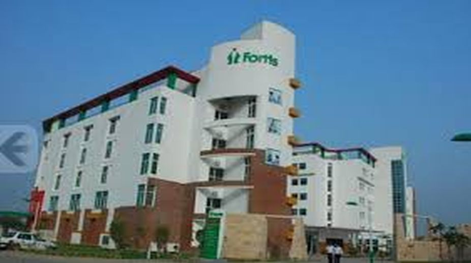 Fortis Hospital in Shalimar Bagh.