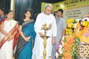 Women's efficiency visible: CM Naveen Patnaik