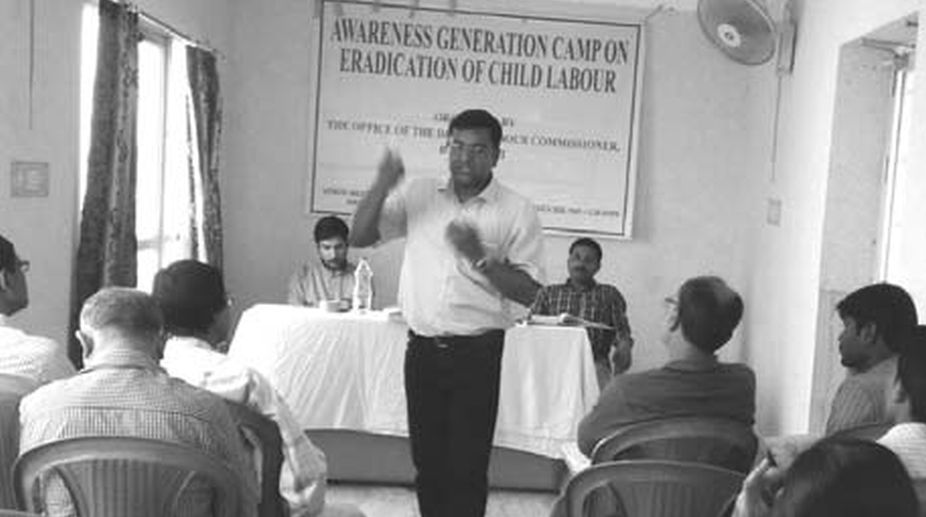 Awareness Generation Camp On Eradication Of Child Labor.