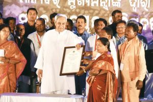CM Naveen Patnaik launches SDC for 9 tribal dists