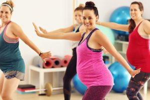 Dance therapy for pregnant women