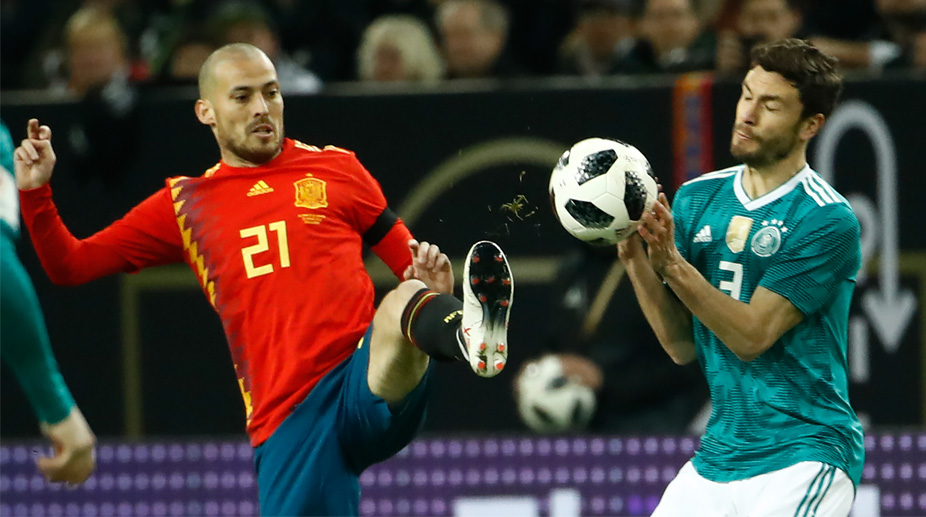 David Silva, Jonas Hector, Germany Football, Spain Football, Spain vs Germany