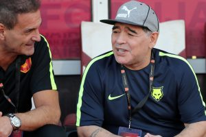 Diego Maradona backs Argentina to succeed at World Cup despite Spain mauling