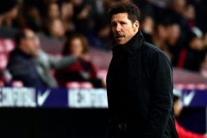 Atletico Madrid's coach Diego Simeone shows faith in young players as injuries force substitutions
