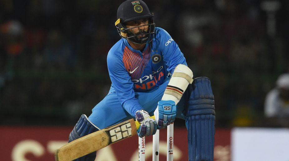 Dinesh Karthik, Rohit Sharma, Nidahas Trophy 2018