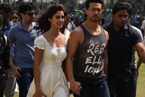 Curiosity around relationship with Disha Patani is good for 'Baaghi 2', says Tiger Shroff