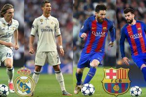 Barcelona vs Real Madrid highlight of La Liga final stage