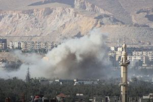 57 killed, over 100 injured in airstrikes on Syria's Eastern Ghouta
