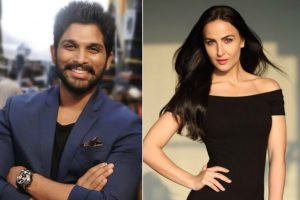 Elli AvrRam joins Telugu superstar Allu Arjun for song in 'Naa Peru Surya'