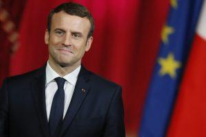 French President Macron defends Syria strikes in EU debate
