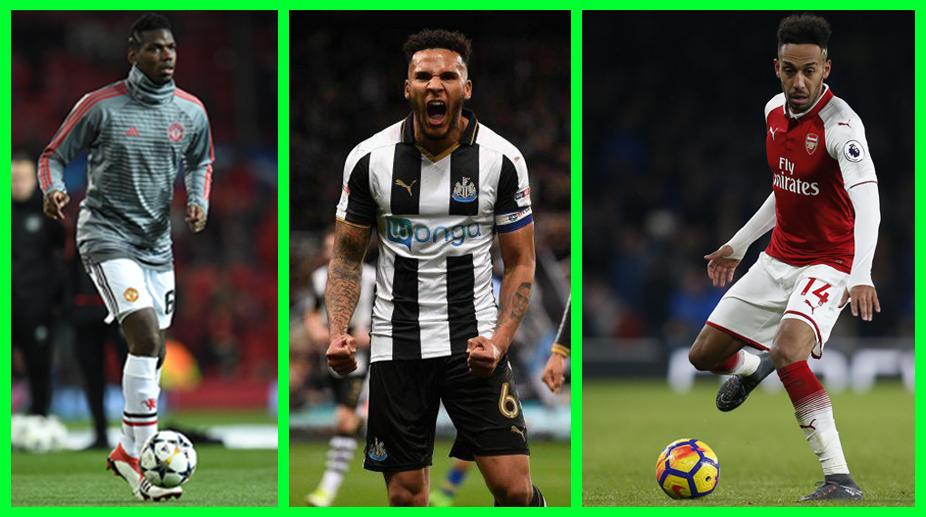 Fantasy Premier League, Premier League, Manchester United F.C., Arsenal F.C., Paul Pogba, Jamaal Lascelles, Pierre-Emerick Aubameyang
