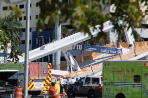 Six dead in Florida university footbridge collapse