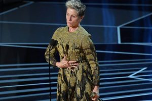 Won, lost, found…Frances McDormand's Oscar trophy