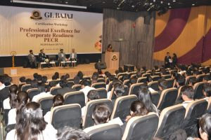 Workshop on 'Professional excellence for corporate readiness' at GLBIMR