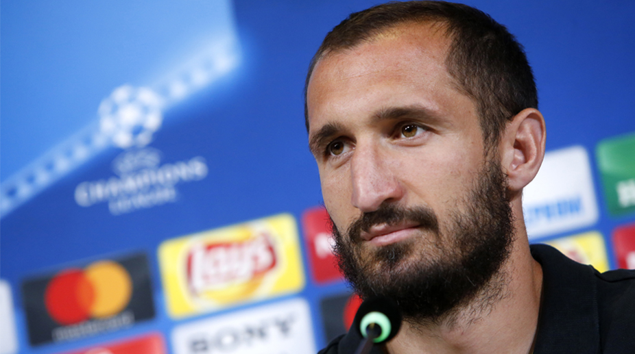 Giorgio Chiellini out of Italy friendlies with thigh injury