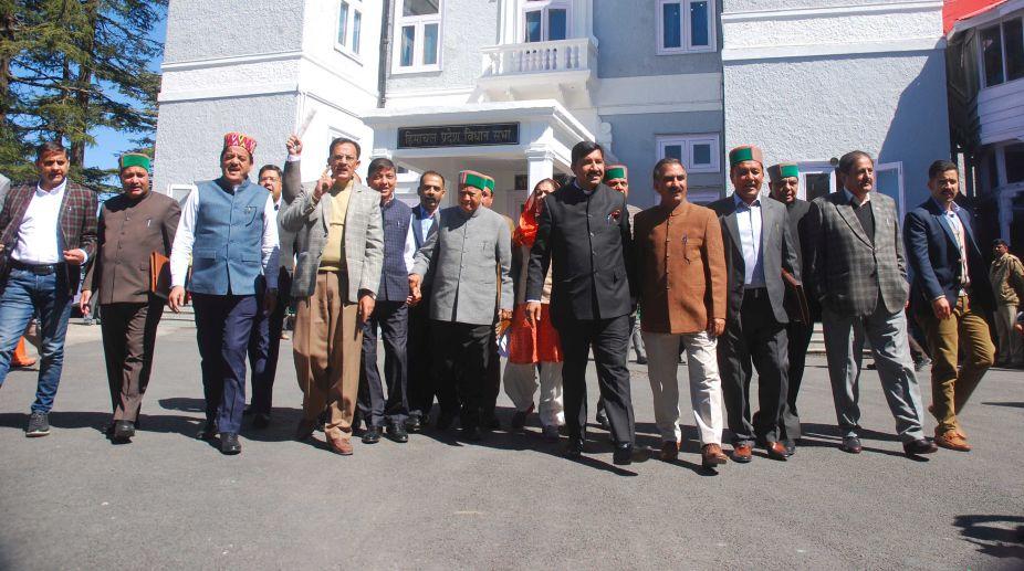Congress, Himachal Pradesh Assembly, government employees, Himachal CM, Jai Ram Thakur