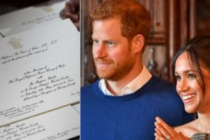 Drumrolls! Prince Harry,Meghan Markle's royal wedding invites out
