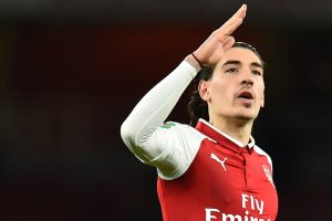 Hector Bellerin mocks Troy Deeney for 'long hair' quip after latter's penalty miss