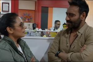 Watch: 'Raid' star Ajay Devgn reveals his 'Hichki' to Rani Mukherji