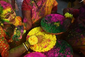 In pics: Colours, celebrations mark Holi festival in India