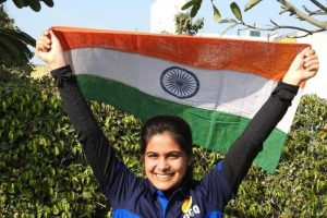 ISSF World Cup: 16-year-old Manu Bhaker shoots gold, bronze for Ravi Kumar