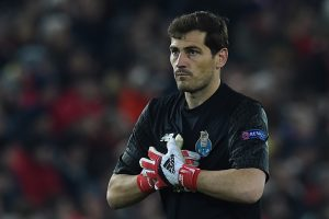 Iker Casillas responds to Anfield's standing ovation