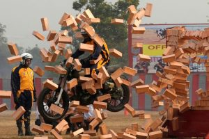 In pics:  Indian Army soldiers display daredevilry at Chennai academy